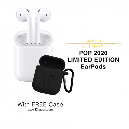 LIMITED Edition Sacoor POP 2020 AirPods with Free Case