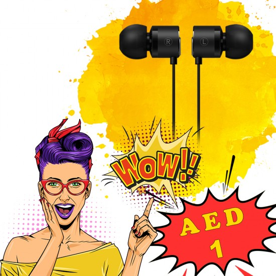 Earphones - AED 1 - Special OFFER!!!