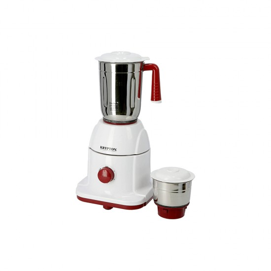 Krypton 550W Powerful Mixer Grinder, 2 in 1 with 2 Jars | Powerful Copper Motor | with Double Oil Seal| Heavy Duty KNB5311