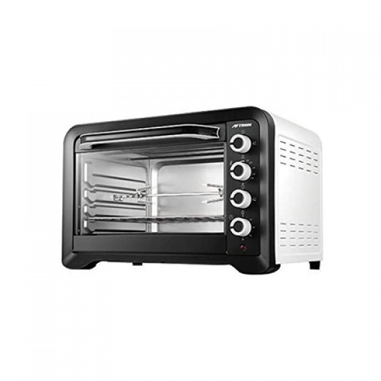 Aftron Electric Oven 100 Liter, Silver - AFOT12000GRN