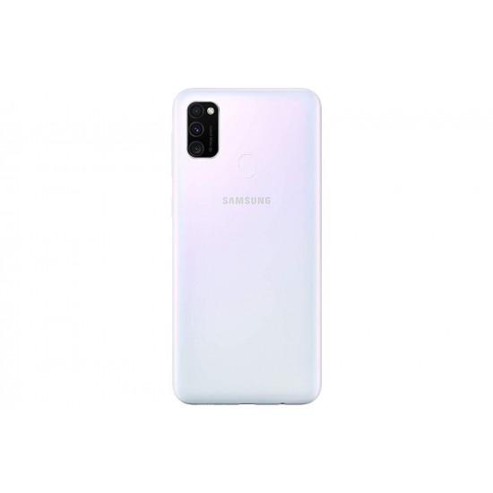 Samsung Galaxy M30s Dual SIM - 64 GB, 4 GB RAM, 4G LTE - White