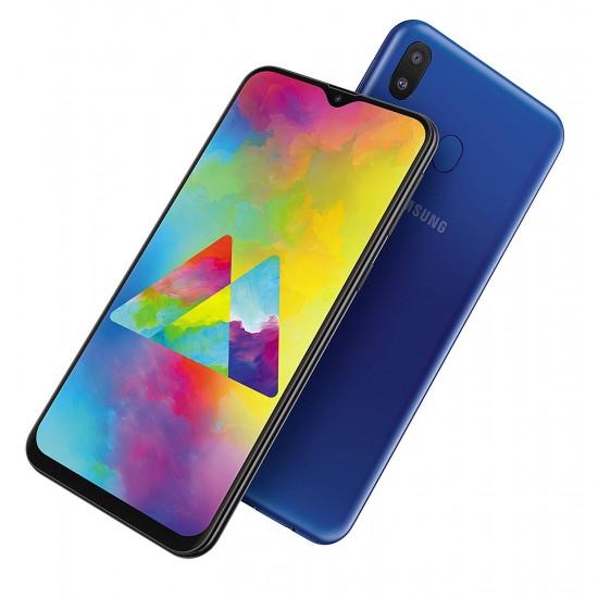 Samsung Galaxy M20 Dual SIM 32GB 3GB RAM 4G LTE - Ocean Blue
