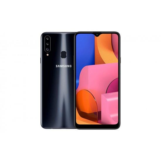Samsung Galaxy A20s Dual SIM - 32GB, 3GB RAM, 4G LTE, Black