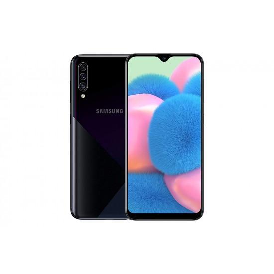 Samsung Galaxy A30s Dual SIM - 64GB, 4GB RAM, 4G LTE - Black