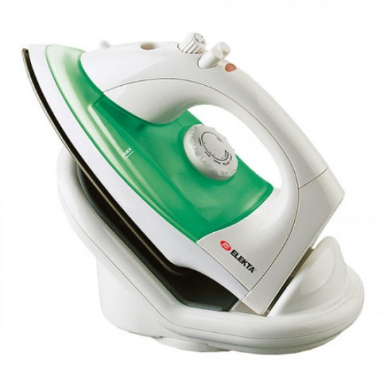 Elekta Cordless Steam Iron ESI-1500CL White/Green
