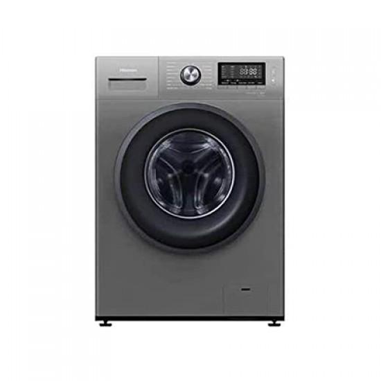 Hisense 8 Kg 1400 RPM Front Load Washing Machine, Silver - WFKV8014T